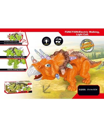 Животные 814A    батар., динозавр, звук, свет,  ходит, в коробке 37*14*15см