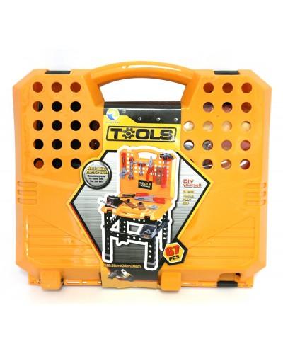 Набор инструментов T102  (18шт/2)  в чемодане 39*34*8 см