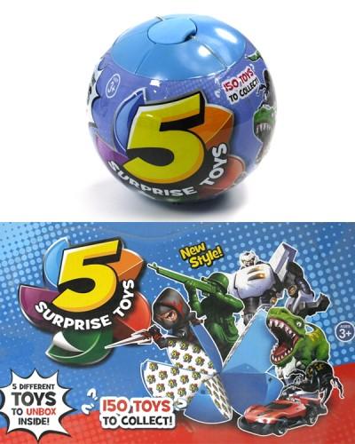 Герои 520 шар состоит из 5 сегментов в каждом игрушка, боксе 35*26,2. Продается по штучно.