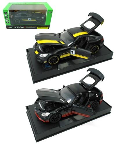 """Машина метал. 7846  """"АВТОПРОМ"""" 1:32 Mersedess-AMG GT R  в коробке 18х9х9см"""
