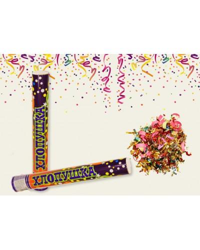 Хлопушка 6106-40NF  конфети, 40 см