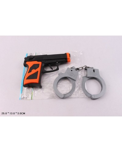 Полицейский набор P014-2 в пакете 25*13*3 см