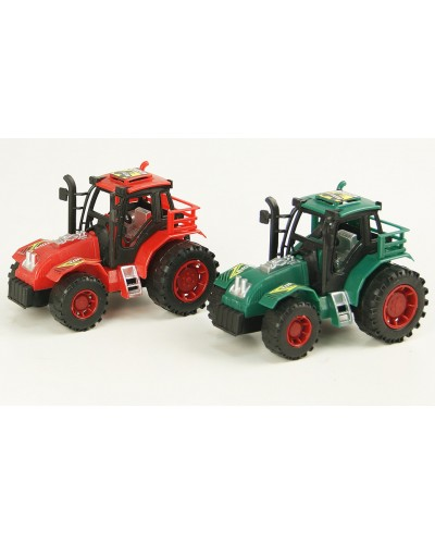 Трактор инерц 628 под слюдой 13*8см
