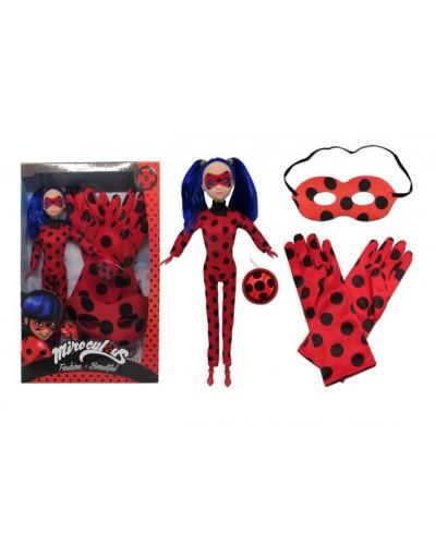 """Кукла """"M"""" TM533A муз, маска, перчатки, талисман, в коробке 23*4,5*32см"""