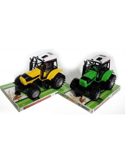 Трактор инерц 666-112A 2 вида, под слюдой 24*14*13см