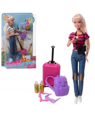 "Кукла ""Defa Lucy"" 8389 2 вида, аксессуары туриста, в кор."