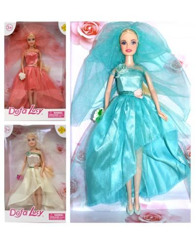 """Кукла """"Defa Lucy""""Невеста"""" 8341 3 вида, в кор."""