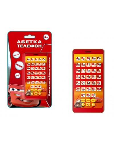 Муз разв.телефон KI-7044 батар., учит цифрам, буквам, на планш.13*22,5см