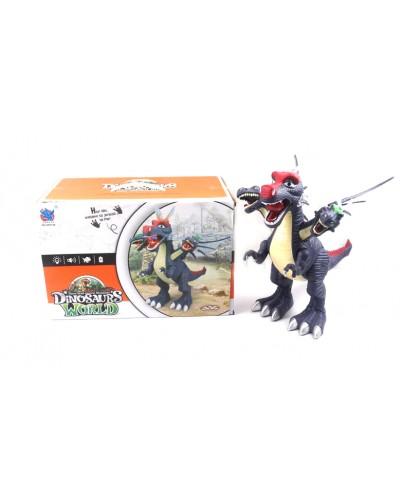 Животные GP2126 динозавр, свет, звук, ходит, в коробке 37*21*25см