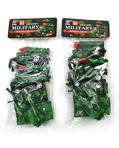 Военный набор 8624 2 вида, в пакете 14*30*7см