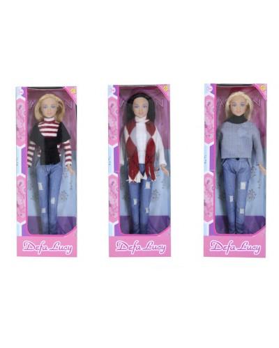 """Кукла """"Defa Lucy"""" 8366 3 вида, в кор.11*5*31см"""