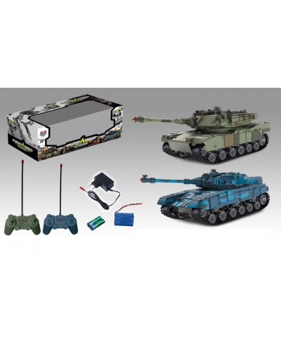 Танк аккум. р/у 333-TK11 2 цвета, в кор. 39*15,5*19,5см