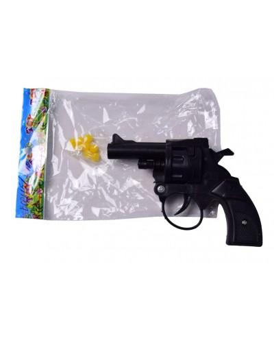 Пистолет 201B пульки, в пакете 14*9см