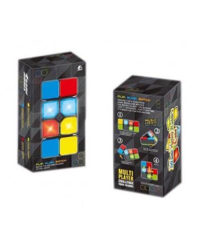 Кубик логика 3667 муз, свет, в коробке 8,5*5,8*16,5см