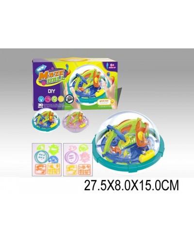 Головоломка 3D-лабиринт 2028 шар, в коробке 27,5*8*15см