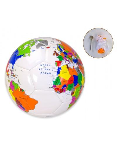 Мяч футбол FB190315 №5, PU 400 грамм