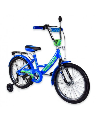 "Велосипед детский 2-х колёсный 18"" 191815 Like2bike RALLY, синий"