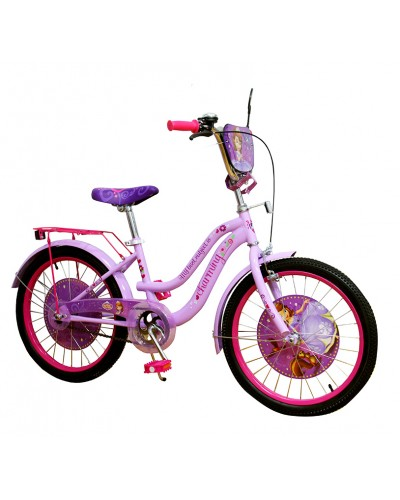 Велосипед 2-х колес 20'' 192001 со звонком, зеркалом, без доп.колес