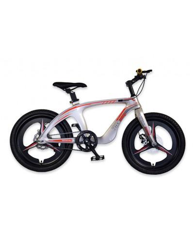 Велосипед 2-х колес 20'' M20301 ЗОЛОТОЙ, рама из магниевого сплава, подножка, руч. тормоз, без до