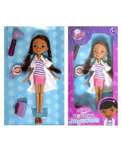 """Кукла """"Doc MC Stuffins"""" 8655-5 2 вида, с наб. доктора, в кор. 27,5*14*5см"""