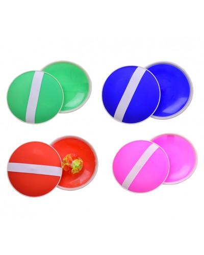 Игра ловушка с шариком на присоске  CL1777  15см, 4 цвета