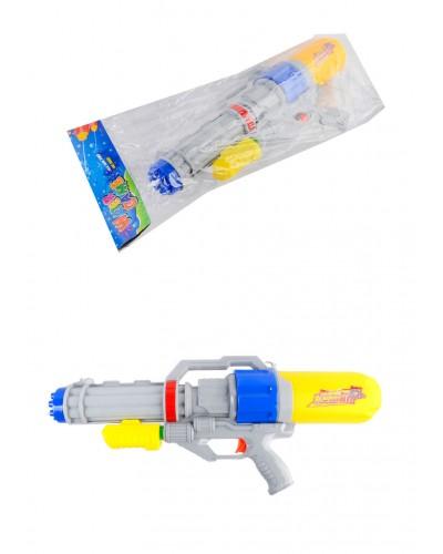 Водный пистолет 2823-30 с насосом, в пакете 56*24*9см