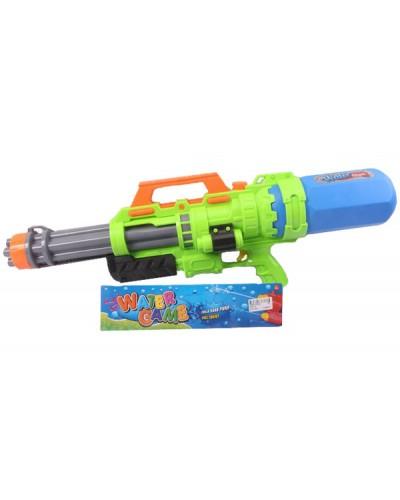 Водный пистолет 2823-32 с насосом, в пакете 67*25*10см