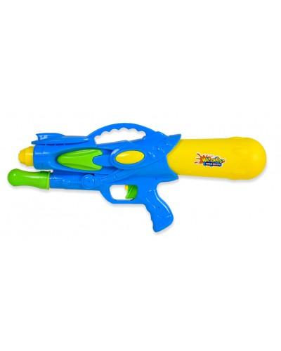 Водный пистолет WG190229 с насосом, в пакете 25,5х57см
