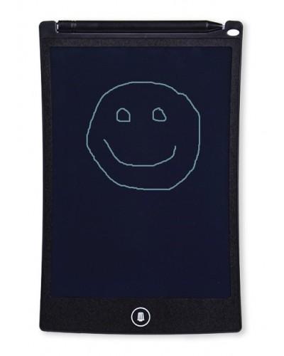 "Планшет lcd  LCD1901 для рисования, размер 8,5"", ручка, кнопка удаления, батар., в кор."