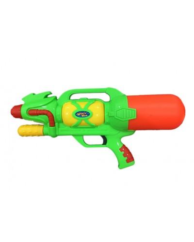 Водный пистолет A-156 с насосом, в пакете 28*56см