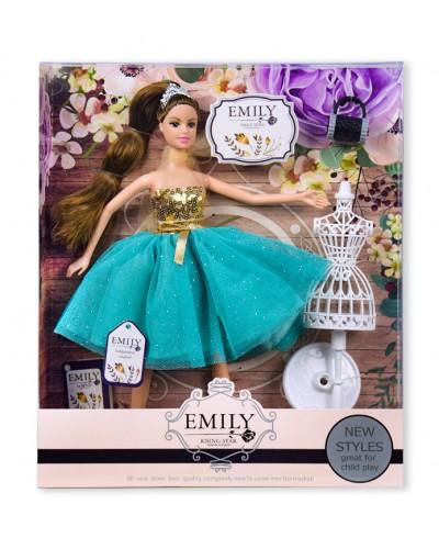 "Кукла ""Emily"" QJ079A с манекеноми аксессуарами, в кор. 33*28*6см"