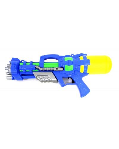 Водный пистолет A-101  с насосом, в пакете 47*20*9,5см