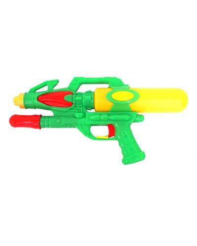 Водный пистолет HQ30003 с насосом, в пакете 35*18*6см