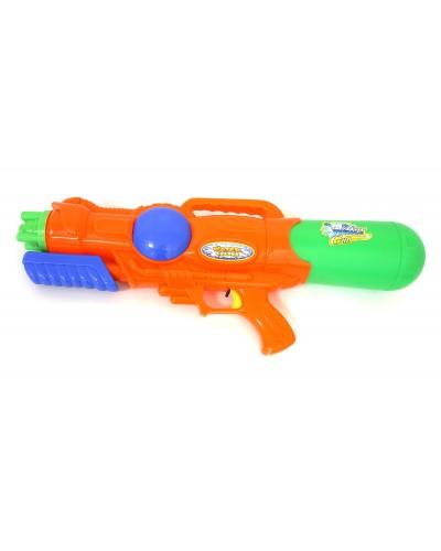 Водный пистолет 8008 с насосом, в пакете 25см