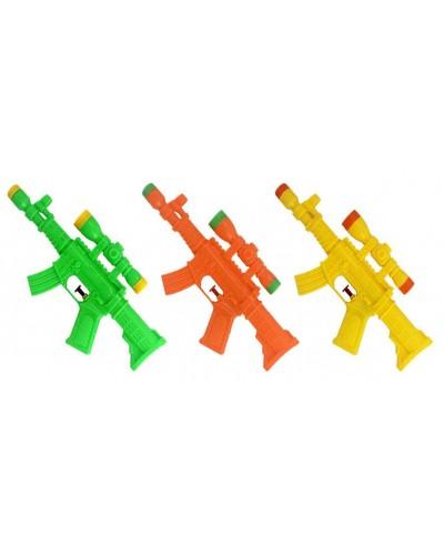 Водный пистолет M6000 3 вида, в пакете 29*13,5см