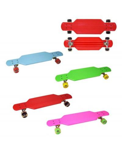Скейт YW0152-1 металл. крепление, колеса PU свет 73 см