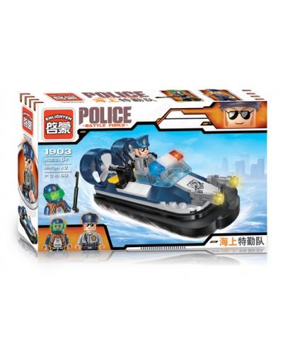 """Конструктор """"Brick"""" 1903 """"Police"""" 105дет., в разобр. кор. 22*14,5*4,5см"""