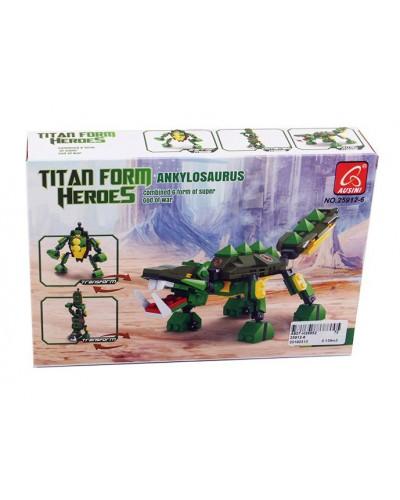 Конструктор Ausini 25912-6 робот-динозавр, в кор. 22*15*4,5 см