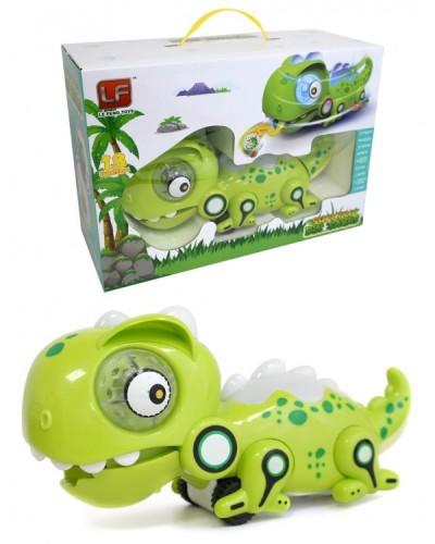 "Животное на р/у 802 Хамелеон, ""кушает букашек"", батар, свет, звук, размер игрушки 14*27*12,5см"