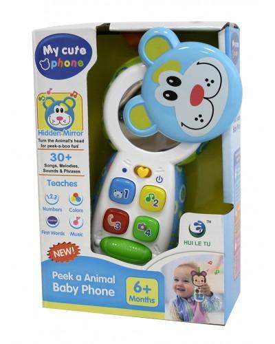 Моб.телефон LT-3983/6 4 вида, батар., свет, звук, в коробке 13*6*20см