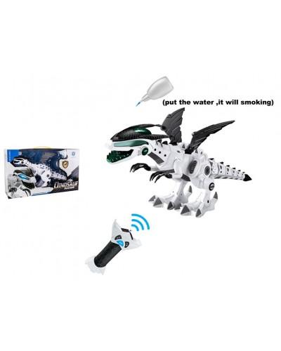 Животное на р/у 0868-2 Динозавр, пульт, свет, звук, функ. пар, музыка, 2 сказки, в коробке