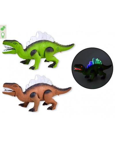 Интерактивное животное F135  2 вида, батар, динозавр, звук, свет, ходит, в коробке