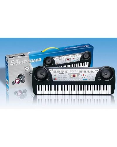 Орган SD999-A батар, музыка, 54 клавиши, в коробке 63*21*7см