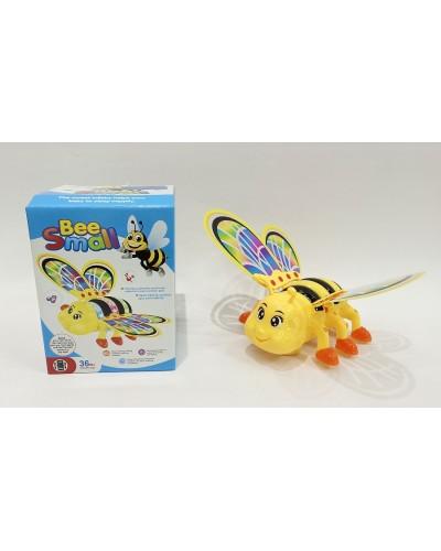 Муз. насекомое DL-301 Пчелка, свет, звук, в коробке 13*17*8см