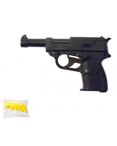 Пистолет 830 без пулек, пистолет 14*9*3см, в пакете 12*19см
