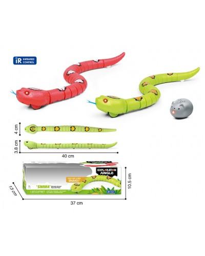 Животное на р/у TT6022A змея, 2 цвета, пульт, в кор. 37*13*10,5см