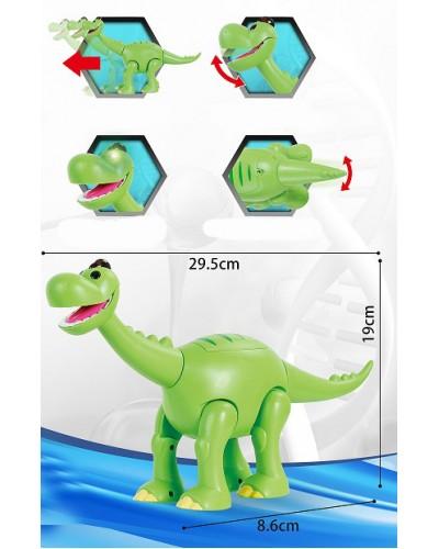 Муз. животное TT6016A Динозавр, свет, звук, движение, в коробке 31*10*21,5см