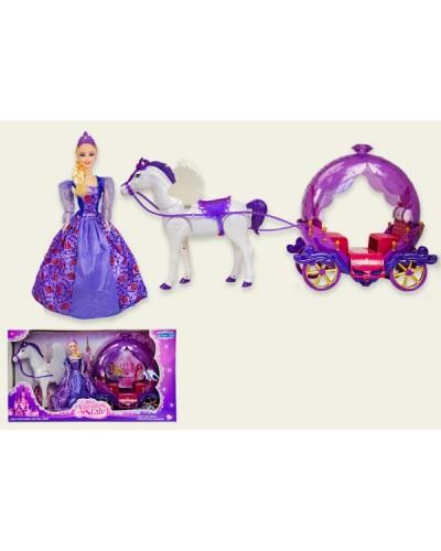 Карета 234A лошадь ходит, в кор. 59.5*20*32.5 см