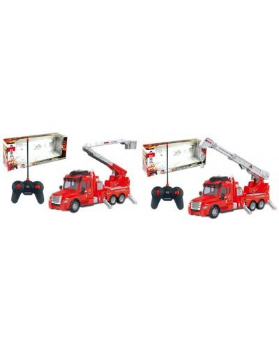 Пожарная машина 634A/635A свет, 2 вида, в кор. 53*21*13см