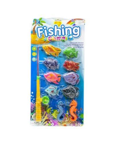 Рыбалка 103C магнит., удочка, рыбки, на планшетке 51*25см